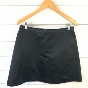 NWOT Madewell A Line Mini Cocktail Black Skirt